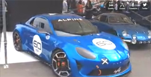 Alpine AS1 Celebration Goodwood