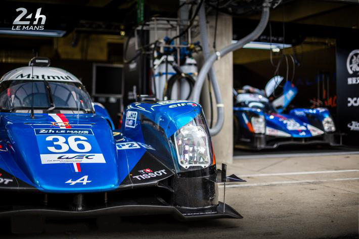 Alpine A460 35 36 journee test le Mans