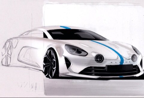 Alpine AS1 illustration