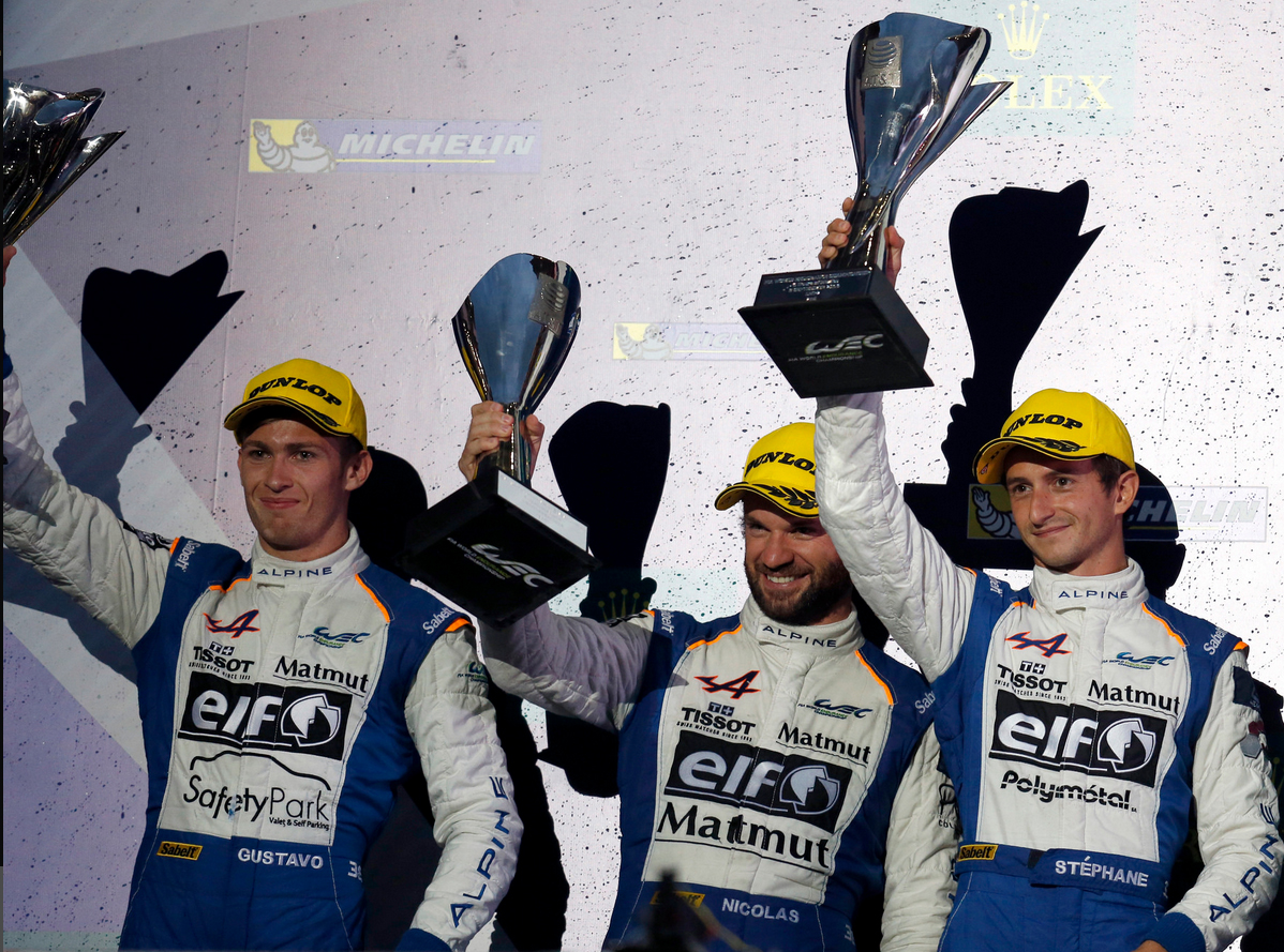 Alpine 36 WEC Mexico podium 2