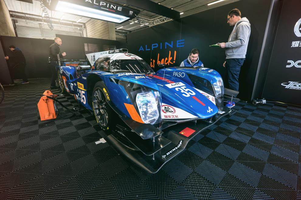 Alpine A460 35 WEC Spa Francorchamps 02
