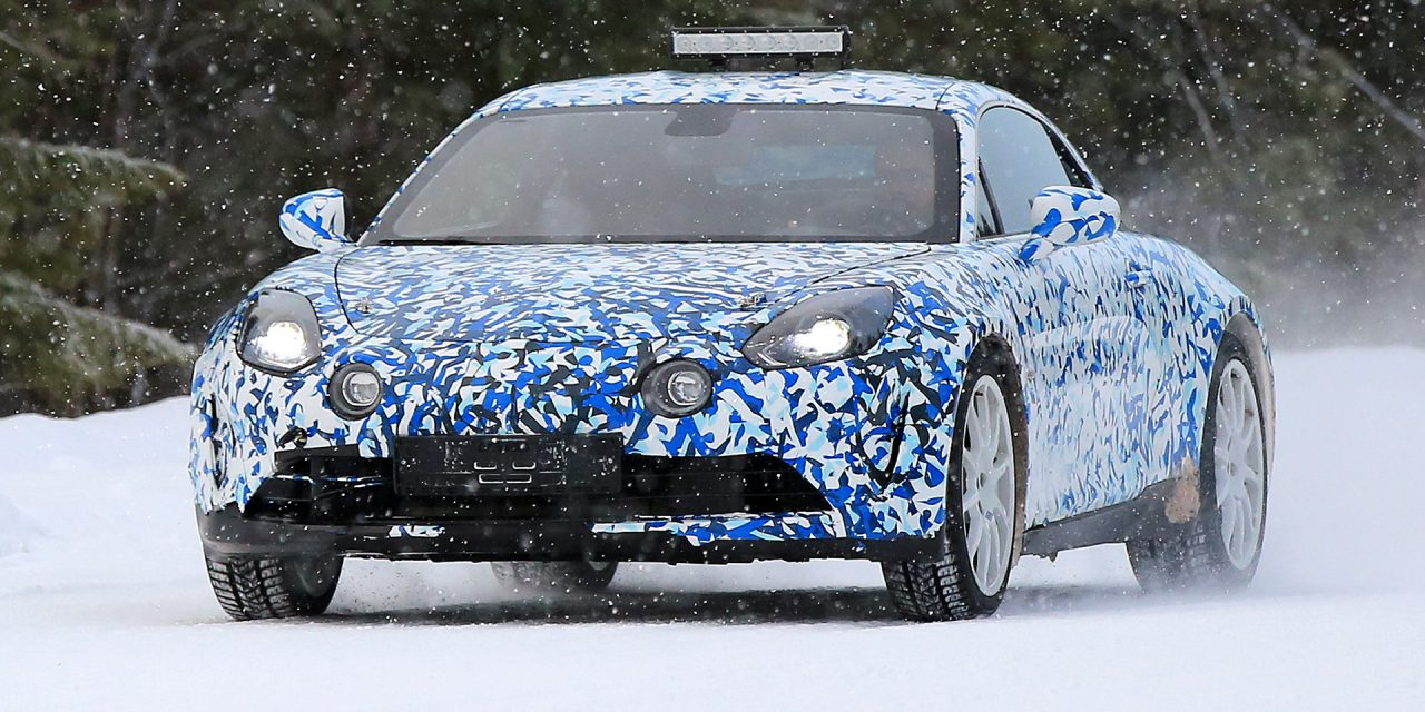 Alpine 2017 AS110 neige