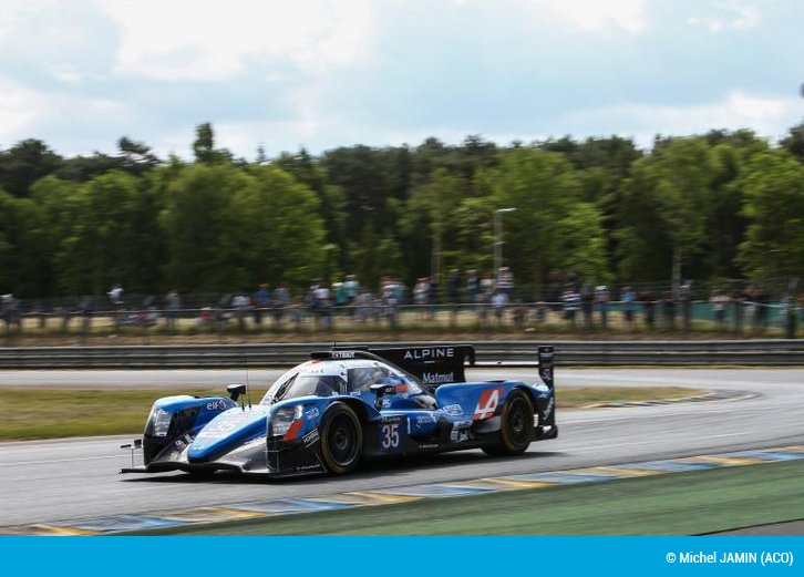 Alpine A470 Le Mans journee test 1