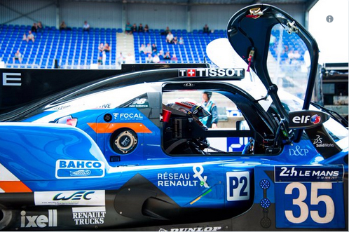 Alpine A470 Le Mans journee test 2