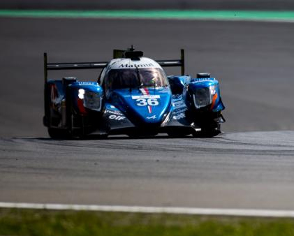 Alpine A470 WEC 2017 Nurburgring course1