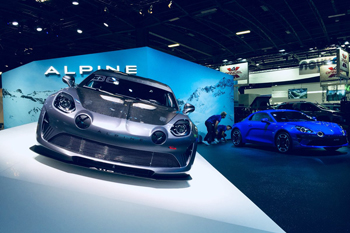 Alpine Pure Legende salon Paris 2018