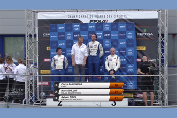 AEEC 2018 Dijon Course1 podium