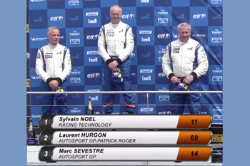 AEEC 2018 Dijon course1 podium gentleman