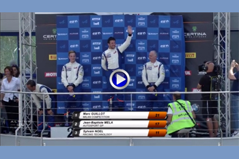 AEEC 2018 Dijon course2 podium