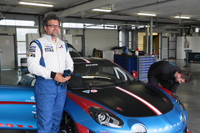 Alpine Europa Cup Gregory Romano pilote N°33 1 min