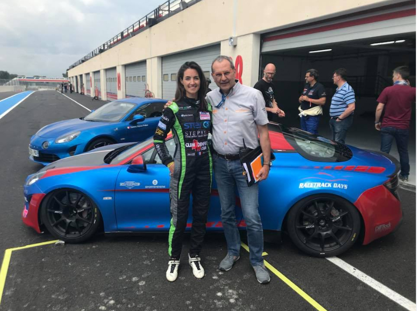 Alpine Europa Cup Margot Lafitte Paul Ricard