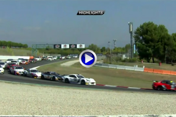 2018 FFSA GT4 Barcelone course1 temps forts