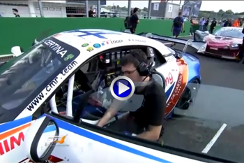 GT4 European series Hungaroring 2018 grille A110GT4 27
