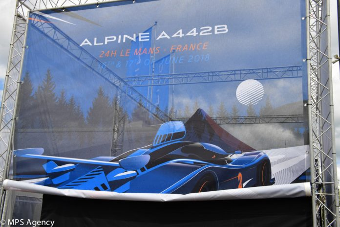 Alpine Le Mans 2018 preparatif1