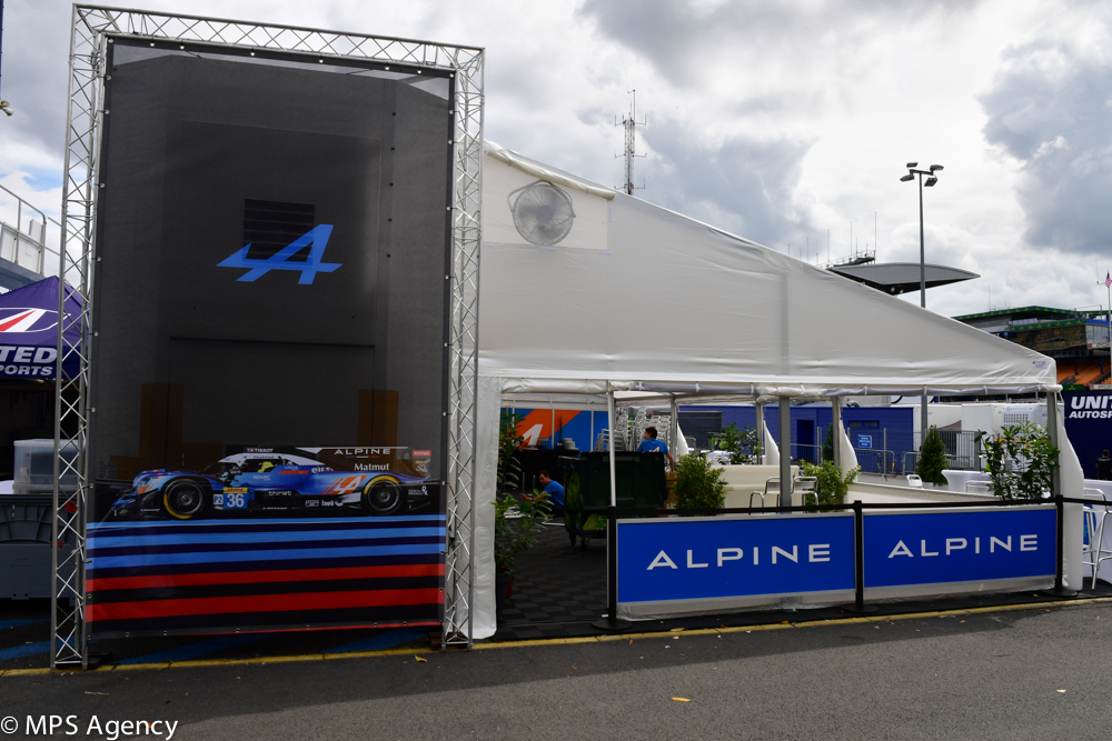 Alpine Le Mans 2018 preparatif2