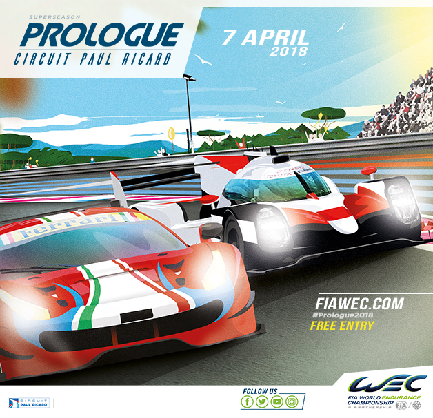 WEC PROLOGUE Paul Ricard 2018