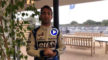Alpine A470 Paul Ricard Andre Negrao interview