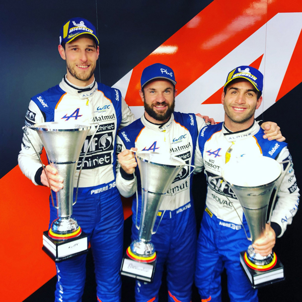 WEC Spa Francorchamps 2019 podium min