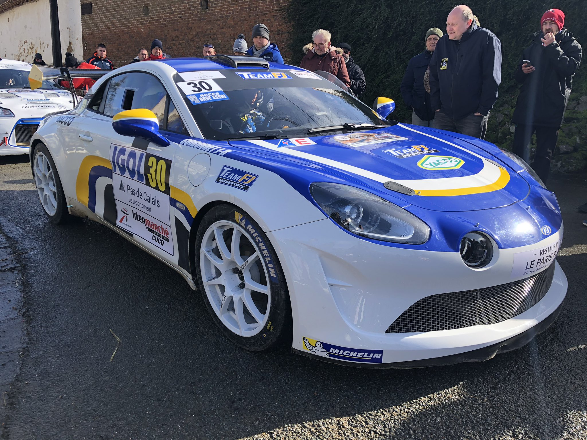Alpine A110 R GT team FJ v 5