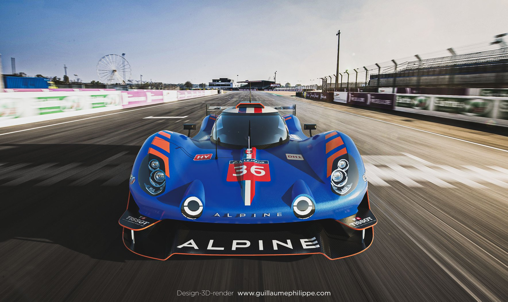 Alpine A480 LDMh design 3