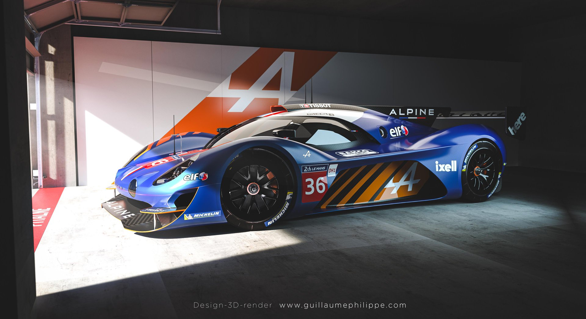 Alpine A480 LDMh design 4
