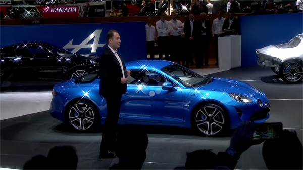 Alpine A110 2017 press conference