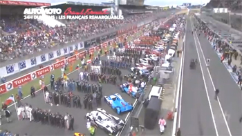 2016 24h Le Mans TF1 grand format